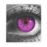 Ojo estrellado púrpura bloc