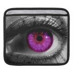 Ojo estrellado púrpura fundas para iPads