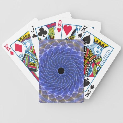 Ojo hipnótico - hielo barajas de cartas