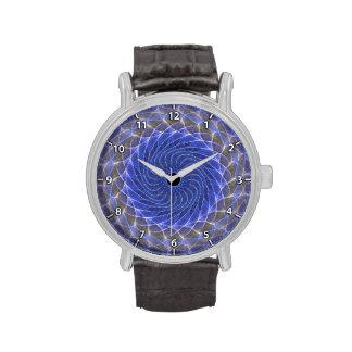 Ojo hipnótico - reloj del hielo