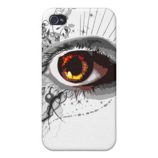 ojo iPhone 4 fundas