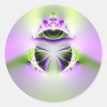 ojo místico pegatinas redondas