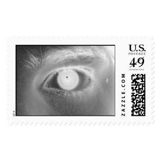 ojo negativo sello