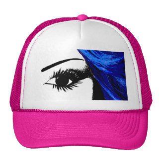 Ojo para las rosas fuertes de la moda gorra