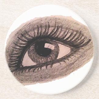 ojo posavasos personalizados