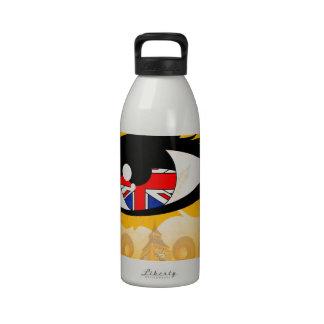 Ojo Reino Unido Botella De Agua