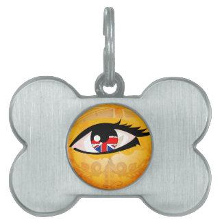 Ojo, Reino Unido Placa Mascota