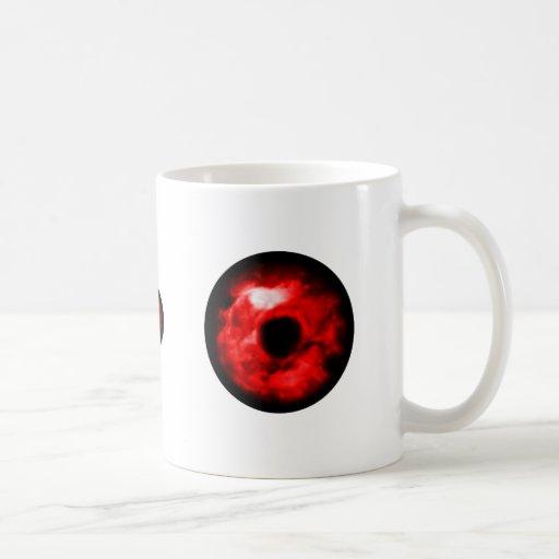 ¿Ojo rojo como gráfico, ojo del monstruo? ¿Ojo ext Taza