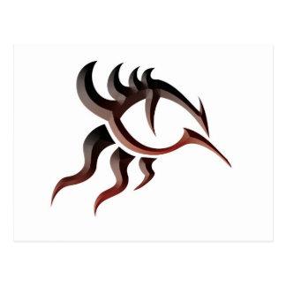 Ojo Tat del dragón Postal