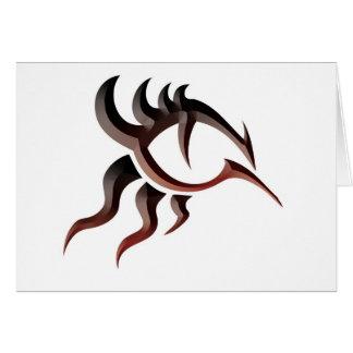 Ojo Tat del dragón Tarjeta
