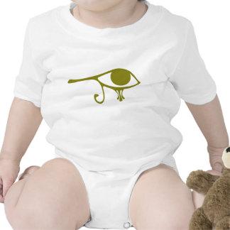 Ojo verde del fango de Horus Trajes De Bebé