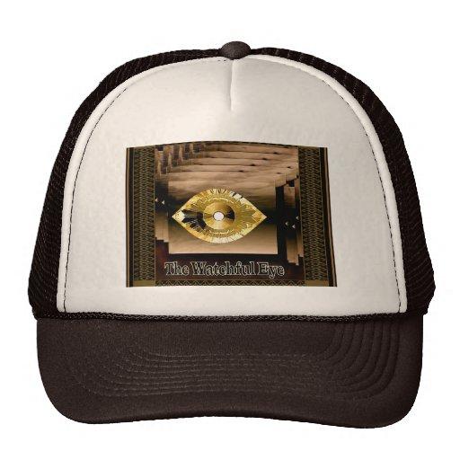 Ojo vigilante - gorra de Brown y del camionero del