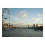 Ojo y el parlamento de Londres Invitación 12,7 X 17,8 Cm