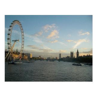 Ojo y el parlamento de Londres Postales