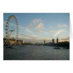 Ojo y el parlamento de Londres Tarjeta De Felicitación