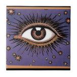Ojo y estrellas azulejos cerámicos