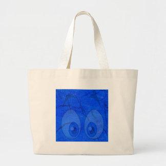 ojos azules bolsas de mano