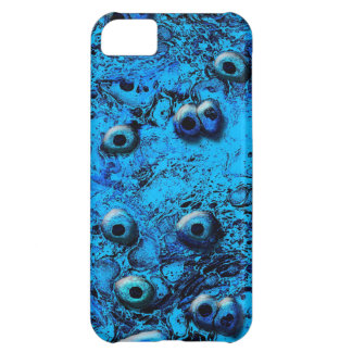 Ojos azules de Zombi Funda Para iPhone 5C