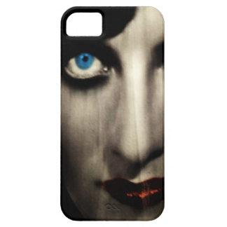 Ojos azules mágicos iPhone 5 Case-Mate fundas