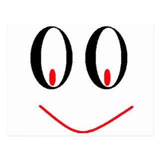 Ojos borrachos del país con sonrisa Smirking de A Postal