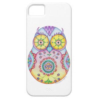 Ojos brillantes de Owlushka iPhone 5 Carcasas