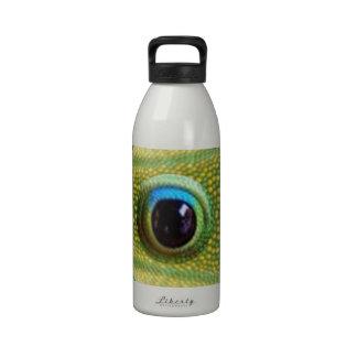 Ojos chinos del dragón de GOODLUCK Botella De Agua
