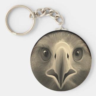 Ojos de Eagle Llavero Redondo Tipo Pin