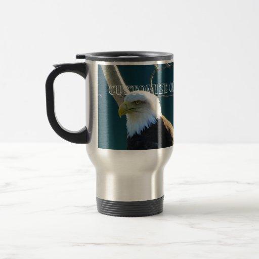 Ojos de Eagle; Personalizable Taza De Café