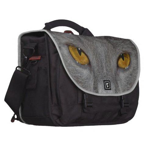 Ojos de gato bolsas para portátil