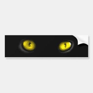 Ojos de gato pegatina para auto