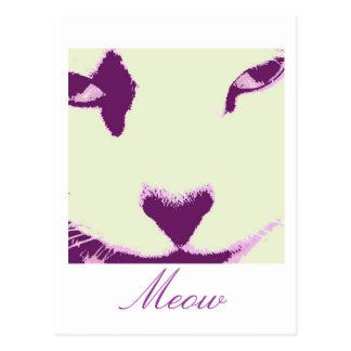 Ojos de gato postales