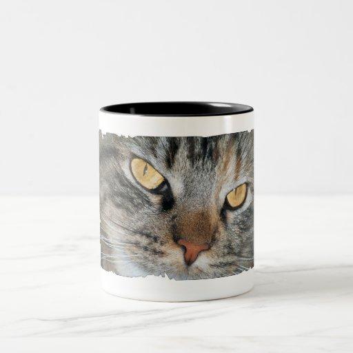 ojos de gato - taza de Nellie