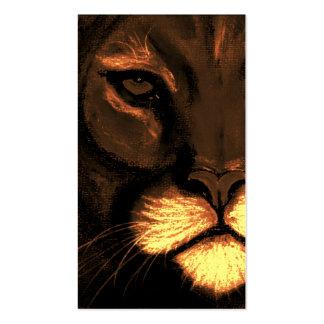 ojos de gatos tarjetas de visita