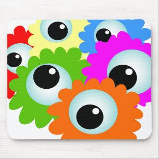 Ojos de Googlie Tapetes De Raton