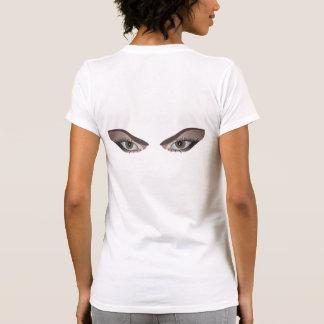 Ojos de la mujer camisetas