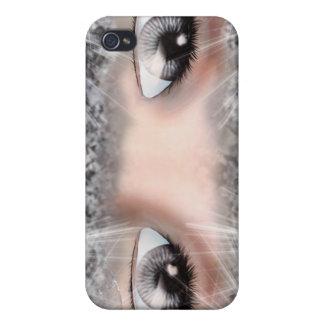 Ojos de la plata iPhone 4 funda