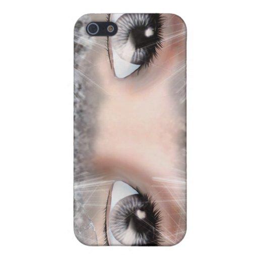 Ojos de la plata iPhone 5 cárcasa