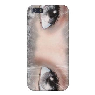 Ojos de la plata iPhone 5 fundas