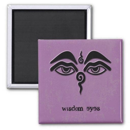 ojos de la sabiduría imanes de nevera