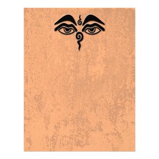 ojos de la sabiduría membrete personalizado