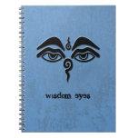 ojos de la sabiduría - negro cuadernos