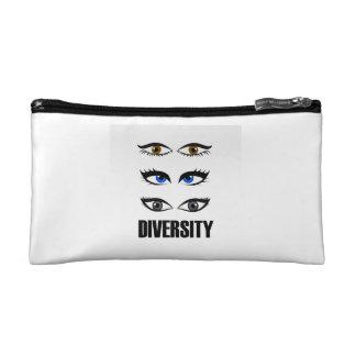 Ojos de las mujeres que muestran diversidad