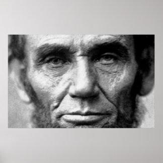Ojos de Lincoln Posters