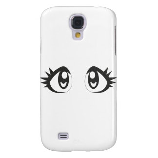 Ojos de Manga Funda Para Galaxy S4