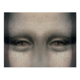 Ojos de Mona Lisa Drácula Postales