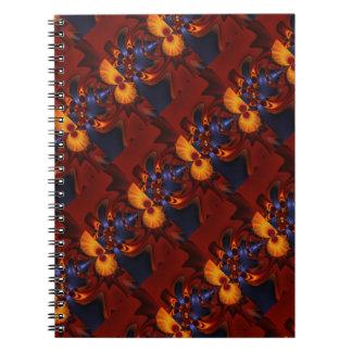 Ojos de oro - Amethyst y encantamiento ambarino Notebook