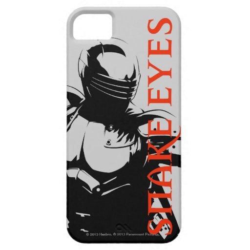 Ojos de serpiente 1 iPhone 5 carcasa