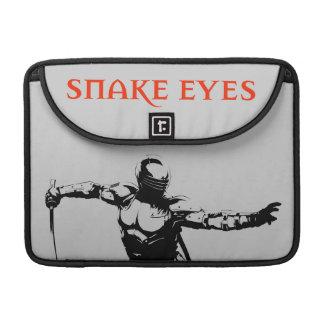 Ojos de serpiente 1 funda para macbooks