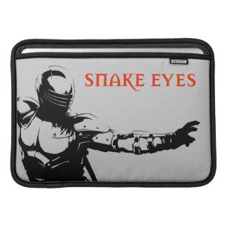 Ojos de serpiente 1 fundas MacBook