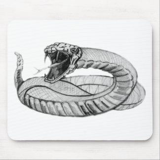 Ojos de serpiente alfombrilla de ratones